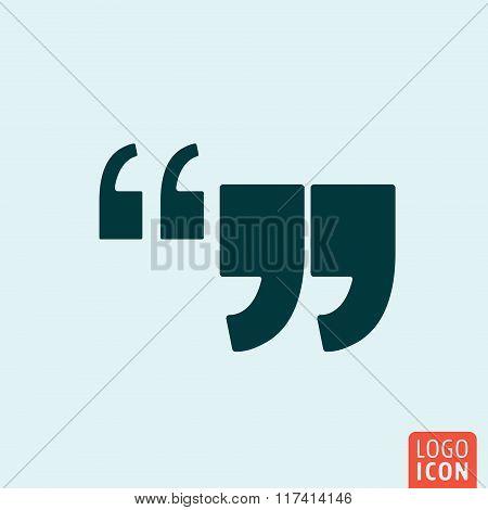Quote Comma Icon