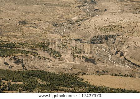 Mount Saint Helens Wasteland