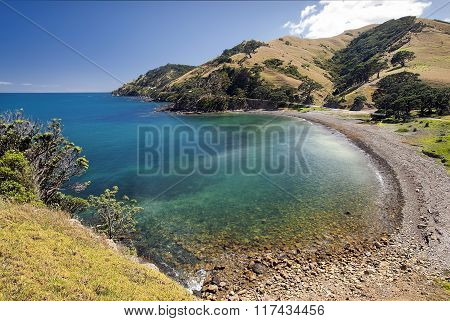 Goat bay, Coromandel peninsular, New Zealand