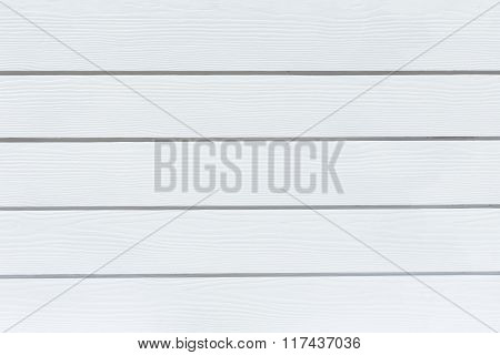 White Wood Wall Plank Background