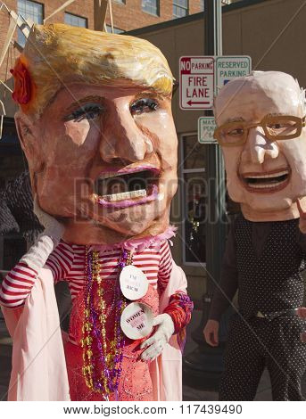 Donald Trump And Bernie Sanders Doppelgagers