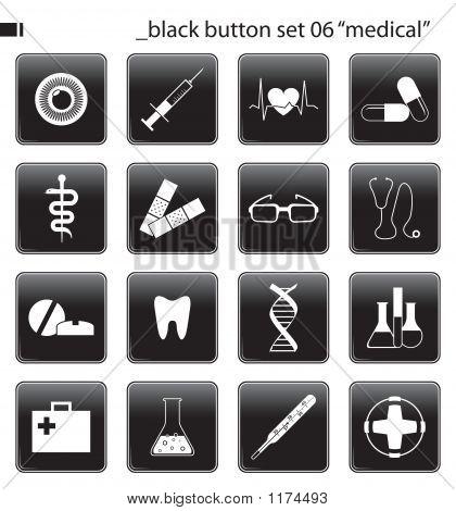 Black Button Set 06