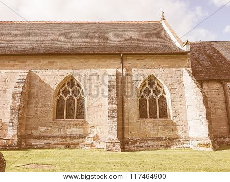 St Mary Magdalene Church In Tanworth In Arden Vintage