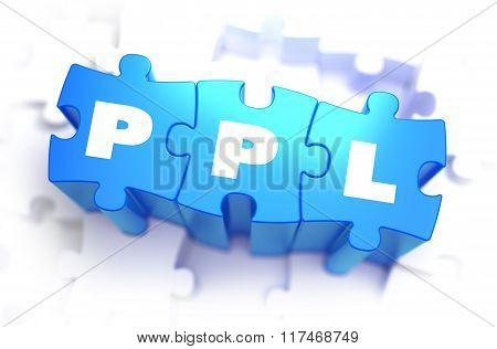 PPL - Text on Blue Puzzles.