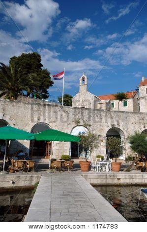 Architecture Bol Brac Island Croatia