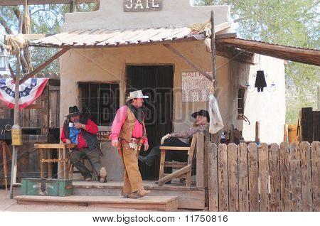 Old Western Gunfighters