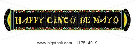 Cinco De Mayo Festive Banner