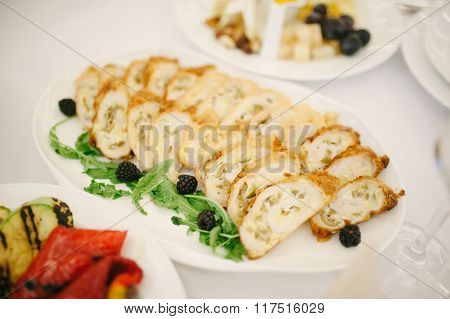 Cattering. Meat Chicken Roll