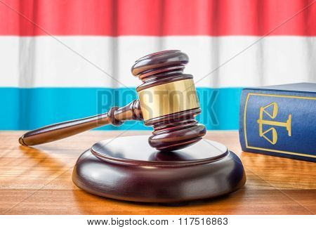 A Gavel And A Law Book - Luxembourg