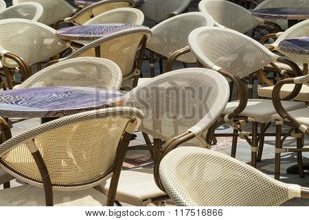 Limoux (france): Chairs And Tables