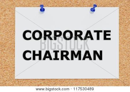 Corporate Chairman Concept