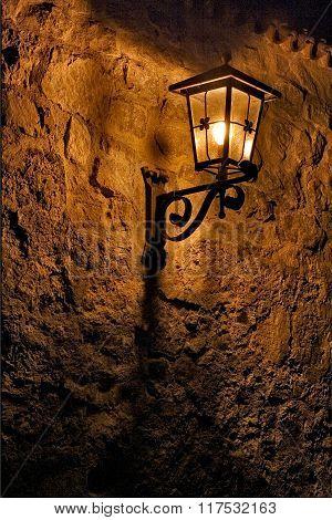 Street Lamp A Bulb  The   Wall Fussen
