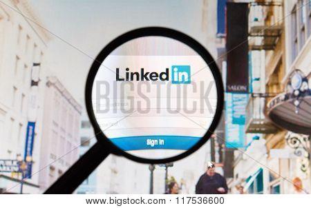 Linkedin - Social Networking Site.