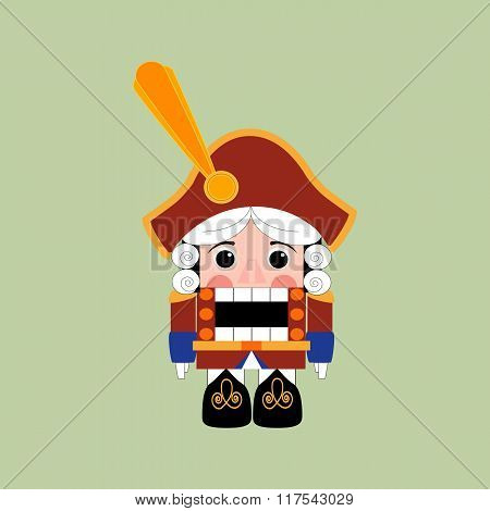Nutcracker Icon Vector
