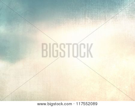 Vintage sky at twilight - abstract natural retro background
