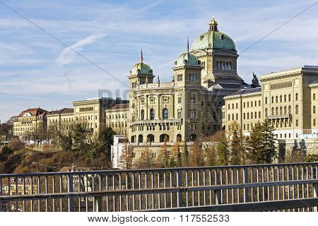Bern, The Government Building, Switzerland