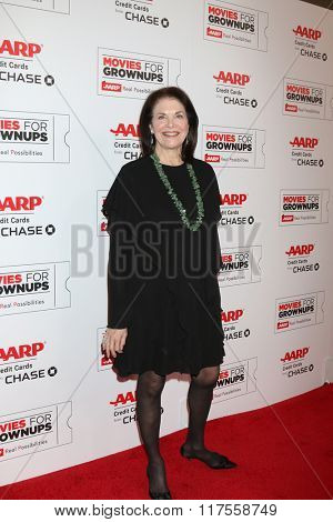 LOS ANGELES - FEB 8:  Sherry Lansing at the 15th Annual Movies For Grownups Awards at the Beverly Wilshire Hotel on February 8, 2016 in Beverly Hills, CA
