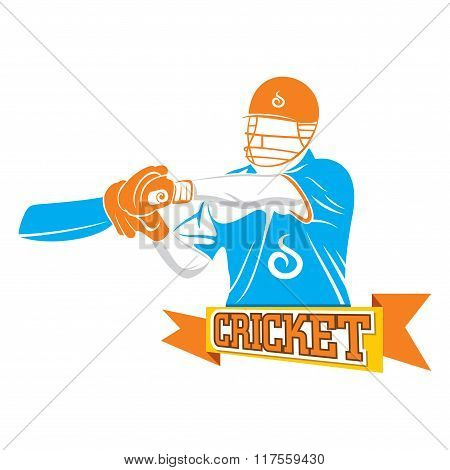 batsmen ready to hit off drive