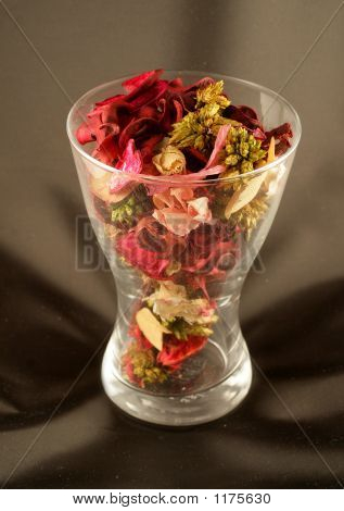 Glass Of Flowers