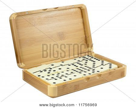 Bamboo Box With Domino