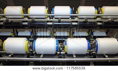Cotton Yarn Production