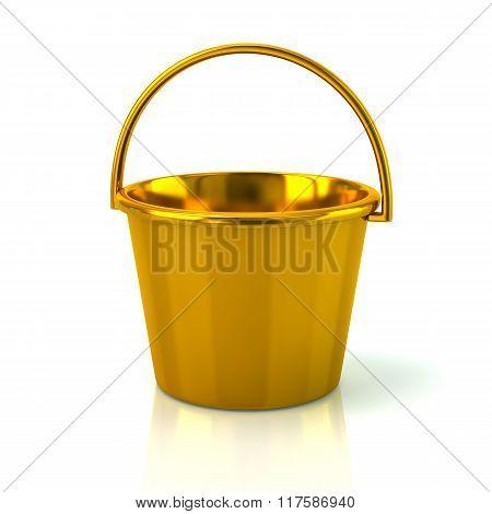 Illustration Of Golden Bucket
