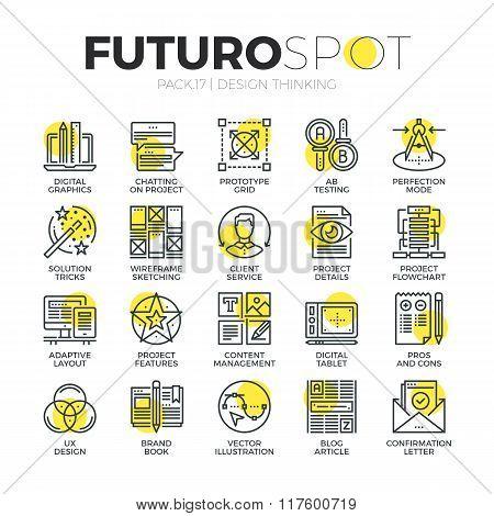 Content Design Futuro Spot Icons