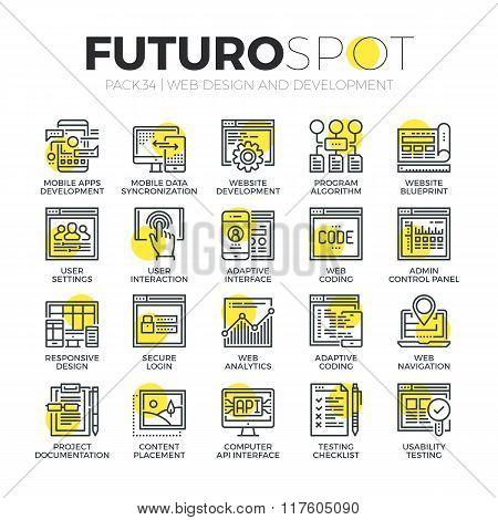 Website Customization Futuro Spot Icons