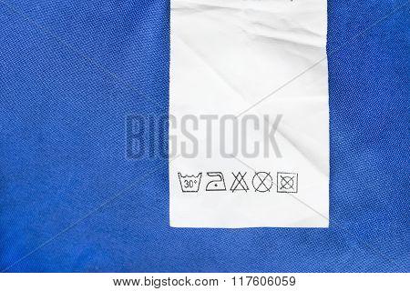 Washing Instructions Label