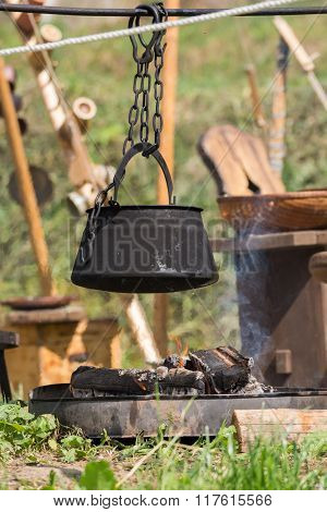 Saucepan Over Your Campfire