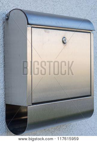Modern Letterbox Metal