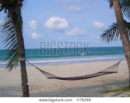 Hammock At Beach - Bintan Indonesia