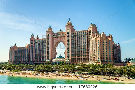 Atlantis Hotel On December In Dubai