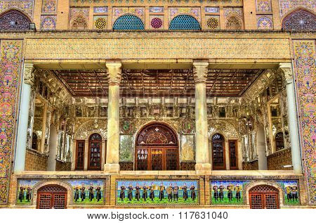Details Of Shams-ol-emaneh Building At Golestan Palace - Tehran, Iran