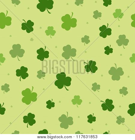 Set Of St. Patricks Day Seamless Patterns Perfect For  Pattern Fills, Web Background