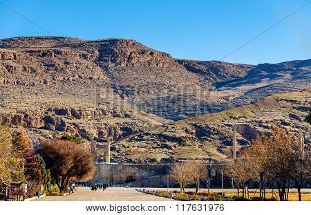 View Of Persepolis, The Capital Of The Achaemenid Empire