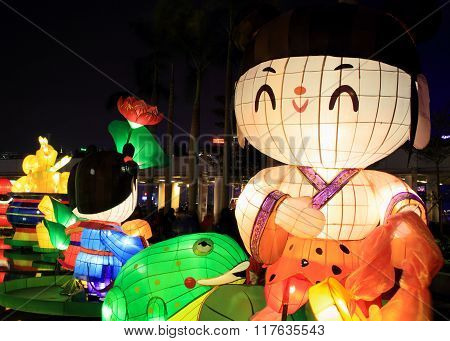 Lunar near year lanterns