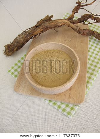 Dry medicinal clay powder