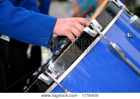 Marching Band Bass Drum