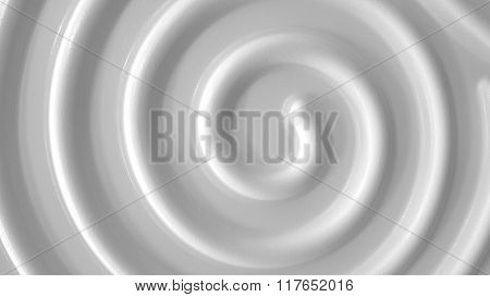 White Spiral Background