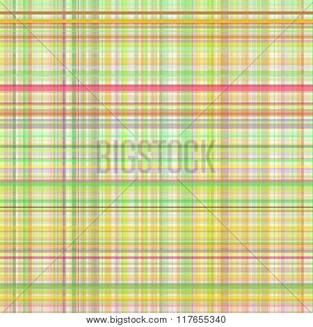 Pastel yellow multicolored stripes  plaid