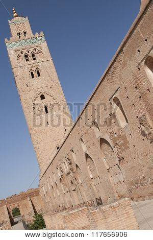 The Koutoubia And The Sky Of Marrakesh