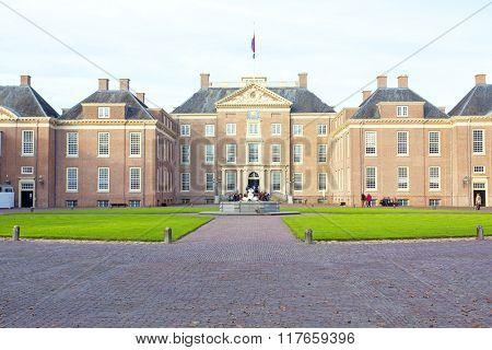 Het Loo Palace in Apeldoorn the Netherlands