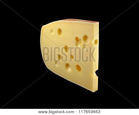 Emmenthal Cheese Slice