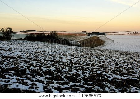 Early Morning on the Yorkshire Wolds