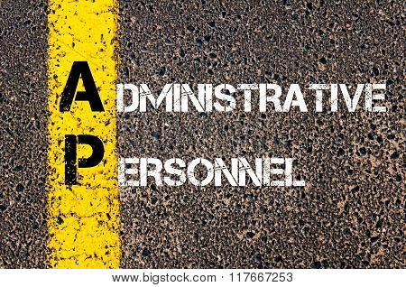 Business Acronym Ap Administrative Personnel