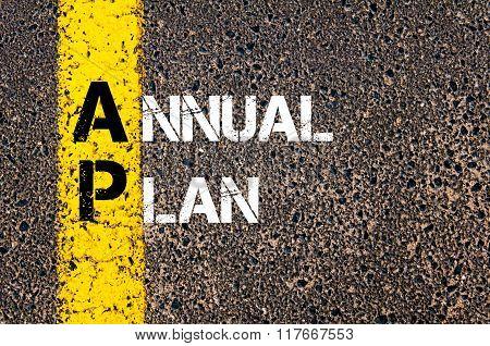 Business Acronym Ap Annual Plan