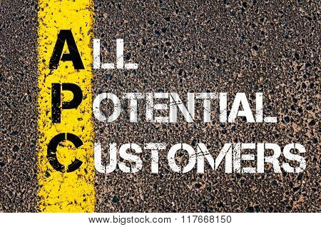 Business Acronym Apc All Potential Customers