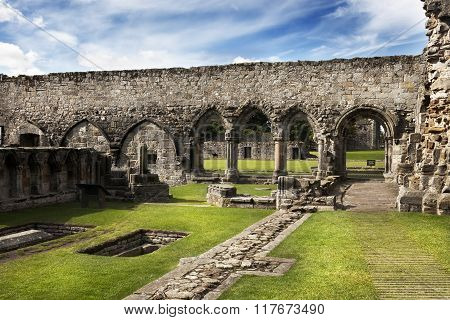 Ruin Of St Andrews Cathedral