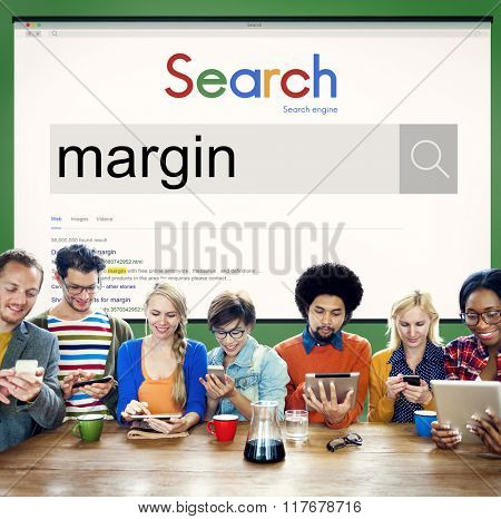 Margin Account Profit Boundary Perimeter Concept